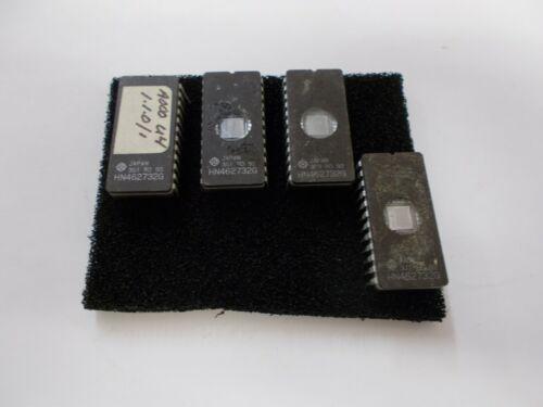 Lot 4PCS HITACHI HN462732G 2732 32KBIT UV EPROM IC USA Seller  BOX#89
