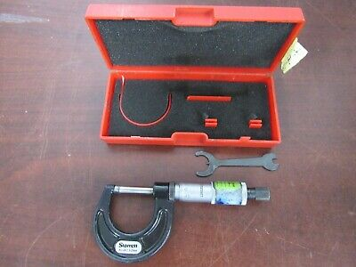 Starrett No. 436.2 Micrometer Metric 0-25mm 23d
