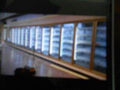 27 Door Walk In Cooler Complete With Convenience Store Equipment