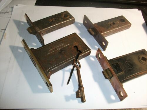 Mortise Door Latch Locks small 4 pcs.