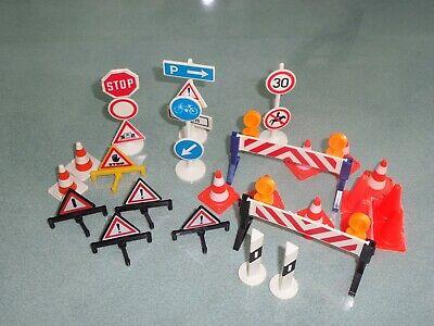 Playmobil Road signs