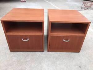 Bedside tables, bedroom furniture,bedroom storage, WE CAN DELIVER Brunswick Moreland Area Preview