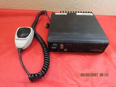 Motorola Max Trac Vhf Mobile Radio D33mja77a3ck Wmic Hmn1056d Tested-works