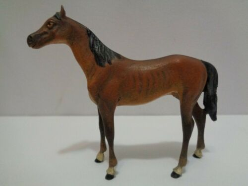 Vintage Outstanding Cold Painted Austrian Bronze Horse Solid Metal