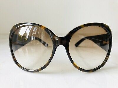 Authentic Vintage Gucci Sunglasses Women's Oversized Oval Tortoise GG2952/S
