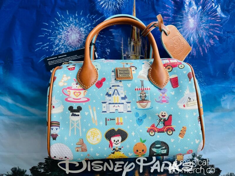 2021 Disney Dooney & Bourke Maruyama A Walk In The Park Passholder AP Satchel A