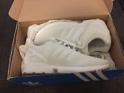 Adidas zx flux brand new white shoes Roselands Canterbury Area Preview