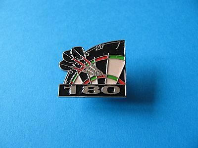 New 180, Treble Twenty DARTS pin badge. Dart