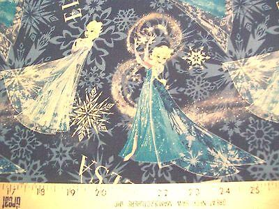 Elsa The Snow Queen (Disney Frozen ELSA SNOW QUEEN Toss Fabric - by the Fat Quarter)