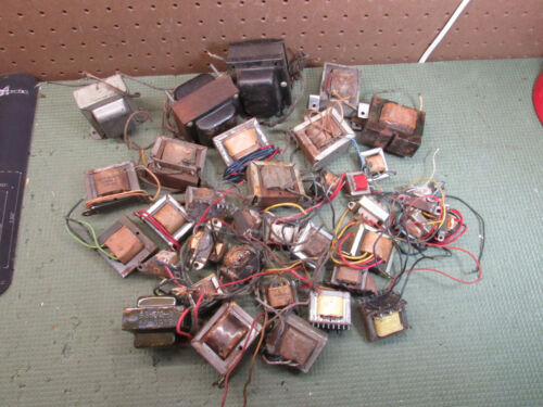 HUGE lot of Vintage Transformers For Tube Amp & Other Electronics Build Repair