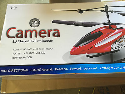 Helicopter 2.4 Ghz Metal - NEW RC Helicopter 3.5 Channel 2.4GHz Metal RC Helicopter w/ Video Camera