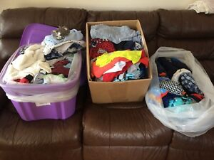 Baby boy clothes and other items