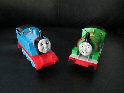 Set of 2 Thomas the Tank Engine & Percy No 6 Christmas Ornaments Train & Friends