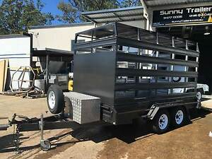 BOX TRAILER*HORSE TRAILER* CATTLE TRAILER 12 X 6 2600KG RATED Toowoomba Toowoomba City Preview