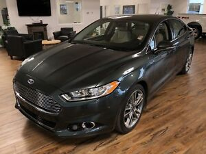 2016 Ford Fusion Titanium AWD (s-roof/leather/remote start)