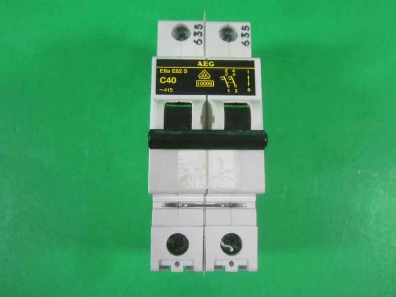 AEG Elfa E82S Circuit Breaker -- C40 -- Used