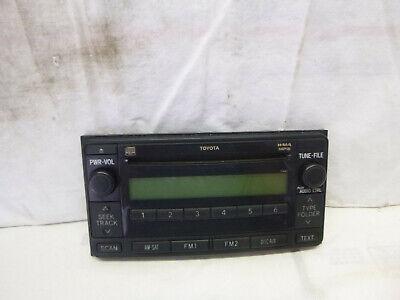 03 04 05 06 07 Toyota  Matrix Yaris Celica Highlander Radio Face Plate 11841 TLC