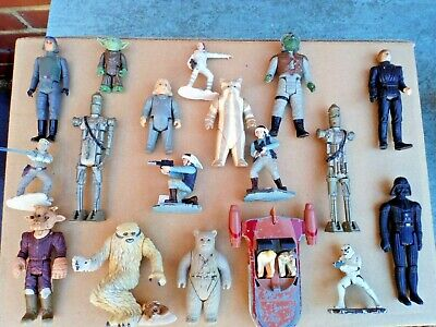 Vintage Star Wars Figure Joblot Mixed Lot 1977 onwards