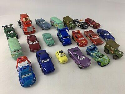 Disney Pixar Cars Diecast Vehicles Trucks Lot of 20 Racecars Trucks Grand Prix