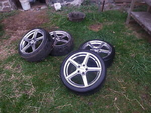 225/40zr18 rims/ tires  Reduced!!!!
