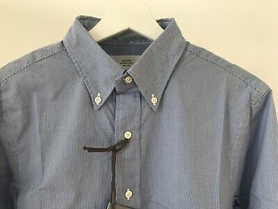 Jack Spade Mens Formal Rollie Shirt Micro size 15 Brand New RRP:£160