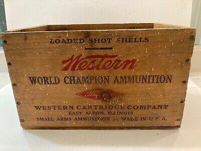 Property Shotgun Shells 12 Gauge Empty Box Western Xpert U Buck Shot S