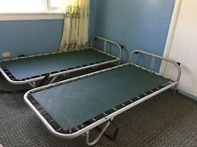 2 Handy comfortable guest bed total $60 Macquarie Fields Campbelltown Area Preview