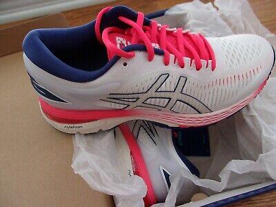 ASICS Gel-Kayano 25 Women's Running Shoes - White/White - 1012A026 - 100