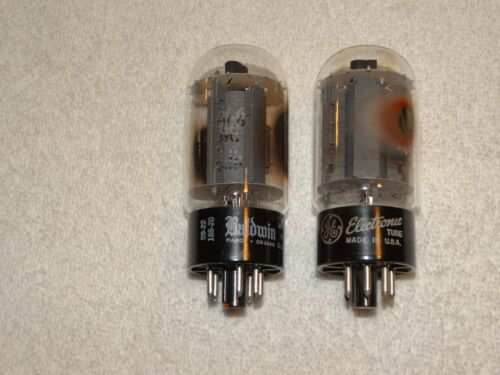 2 x 6L6gc G.E. Tubes *Very Strong Matched Pair*( 2 Offers Available)