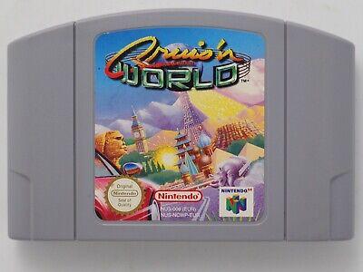 Cruis'n World for Nintendo 64 N64 PAL *100% GENUINE* CART ONLY Aust. Seller