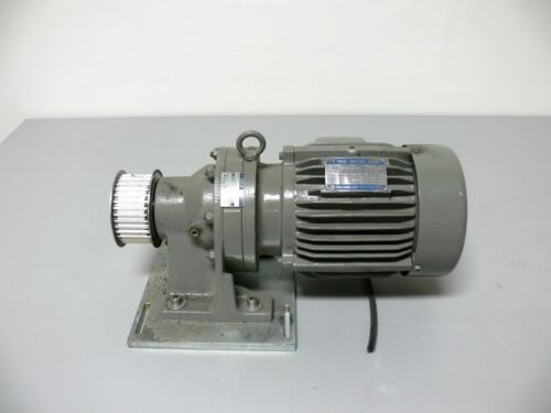 Tatung 3 Phase Induction Motor EBFC-D w/ Sumitomo CNHM-4095 Cyclo Drive