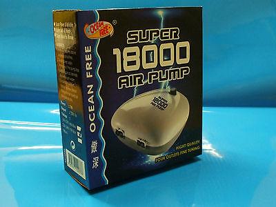 Ocean Free Super 18000 Aquarium Fish Tank 4 Way Controllable Outlet Air Pump