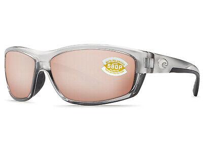 6eb54a888b760 NEW Costa Del Mar SALTBREAK Silver   580 Silver Copper Mirror Plastic 580P