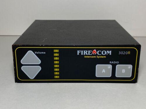 FIRECOM 3020R FIRE APPARATUS INTERCOM SYSTEM FIRE COM