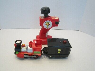 Fisher Price GeoTrax Toy Story 3 Remote Control Train  TESTED
