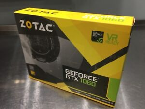 Zotac GTX 1060 6gb NEW/NEUF