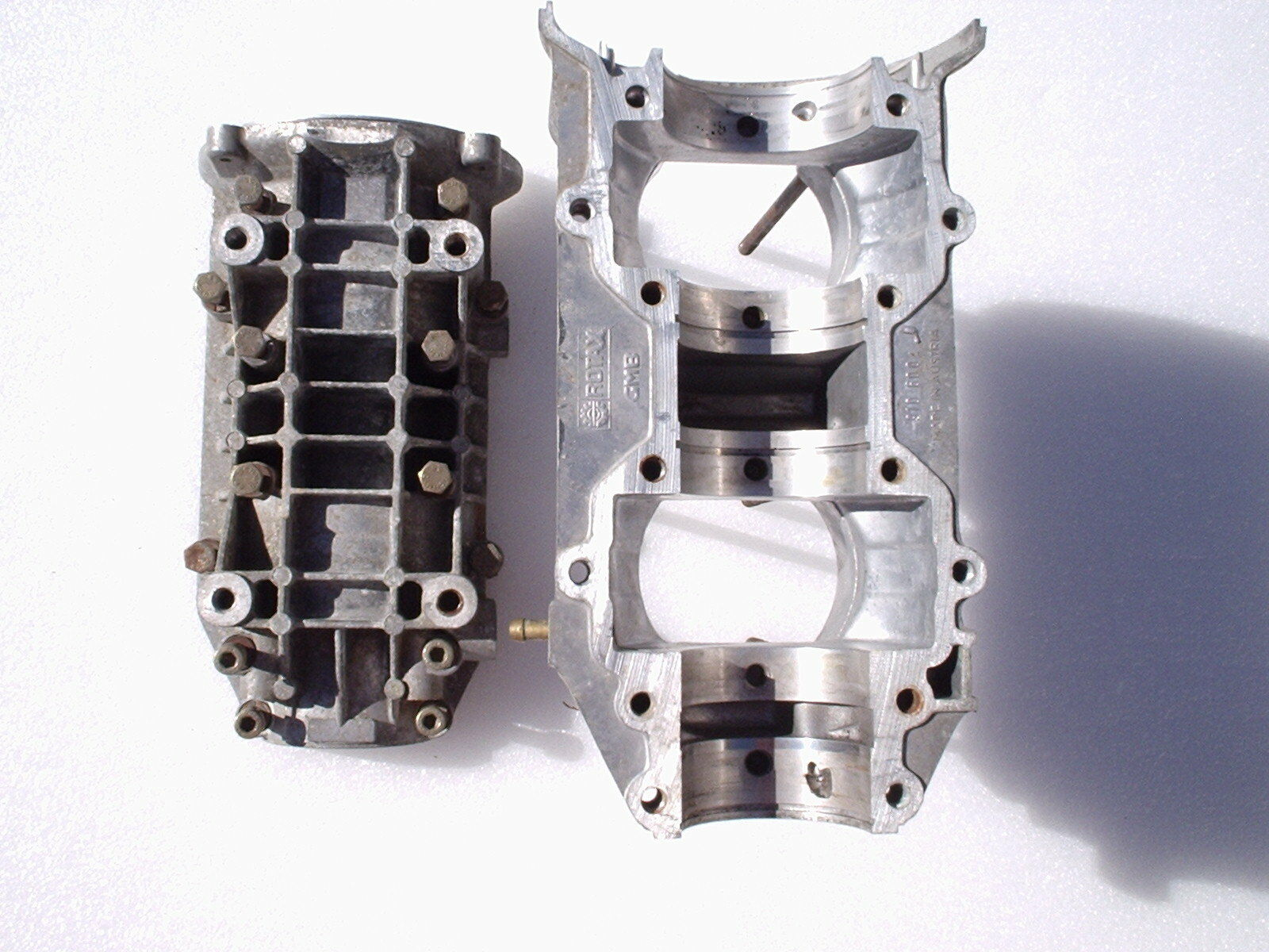 Rotax  503 aircraft engine provision four crankcases