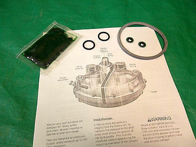 Repair Rebuild Buna Seal Kit 600678 Xomox Matryx Mx60 Pneumatic Vane Actuator