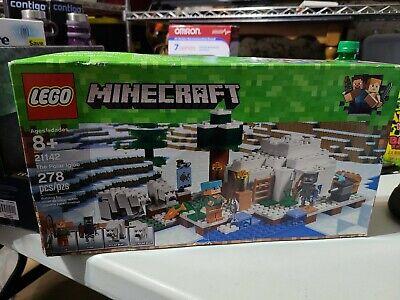 LEGO 21142 Minecraft THE POLAR IGLOO  (278pcs) Brand New Sealed Box