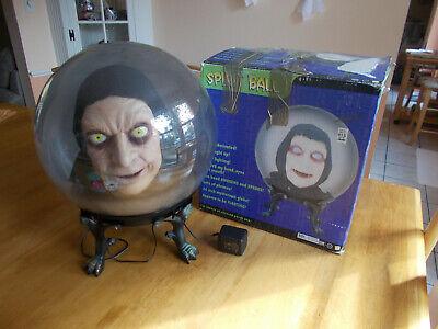 "Spirit Halloween GEMMY Spirit Ball Animatronic Ghoul Head Prop with Box 14"""