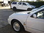 2001 Ford Fairlane Sedan AU Series II Ghia 4.0 6cyl Auto Tidy Car Orange Orange Area Preview