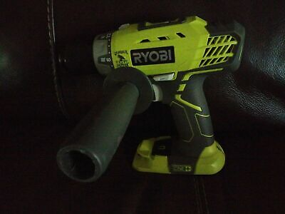 Ryobi P214 One 18-volt Li-ion 12 In. Cordless Hammer Drill Handle Tool Only