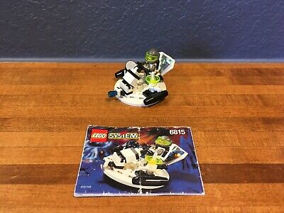 Lego - Hovertron - Space - 6815 - 100% Complete - Instructions