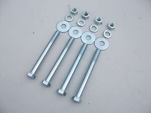 NEW FRONT END CROSS MEMBER TO ENGINE BAY CHASSIS MOUNT BOLTS HD HR HOLDEN