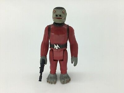 Vintage Star Wars SNAGGLETOOTH, 1980S, RETRO, STARWARS, RARE, COMPLETE