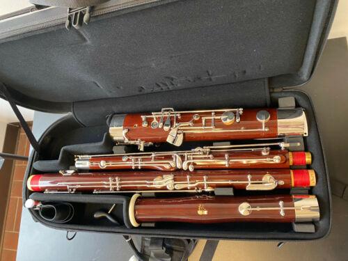 New Fox 222D wood bassoon, keywork to high D, open keywork 3rd finger wing joint