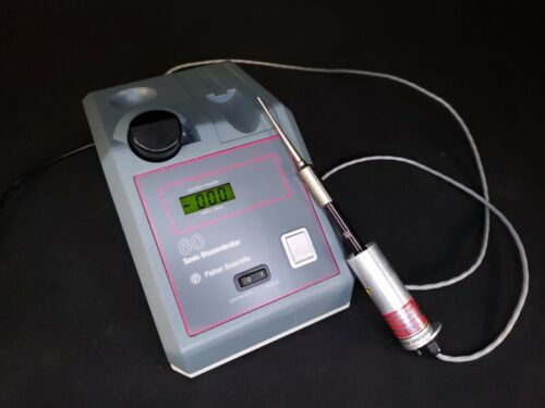 Fisher Scientific 60 Sonic Dismembrator Ultrasonic Sonifier - CLEAN TESTED