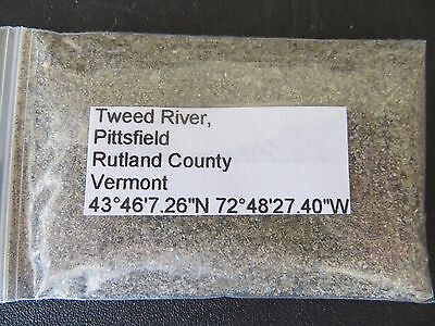 Vermont Tweed River Sand Sample