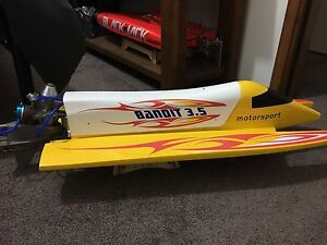 Thunder Tiger Bandit 3.5 nitro RC boat Epping Whittlesea Area Preview