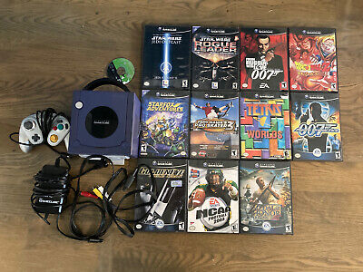 Huge Nintendo GameCube Console And Games Lot - Tested, Works perfect